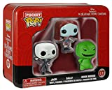 Disney Nightmare Before Christmas Pocket Pop Figures in a Tin
