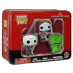 Funko Pop Pack 3 figuras – 4 cm (Pesadilla Antes de Navidad) Funko Pop Disney
