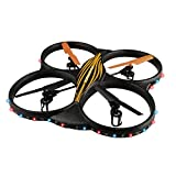 AKASO K88 2.4GHz 4 CH 6 Axis Gyro RC Quadcopter with HD Camera, 360-degree Rolling Mode 2 RTF LED RC Drone by Akaso