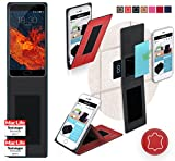 Meizu Pro 6S Hülle Cover Case in Rot Leder - innovative 4