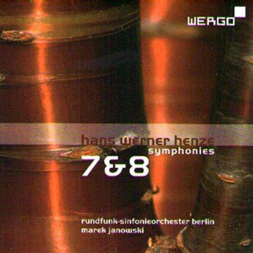 Henze: Symphonies No. 7 & 8