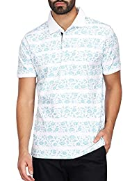 STOP to start Stop by Shoppers Stop Mens Printed Polo T-Shirt
