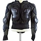 Unisex Outdoor Adventure Cycling Street Motorcycle Motorcross Skating Body Armour Protector ERQI02 Black