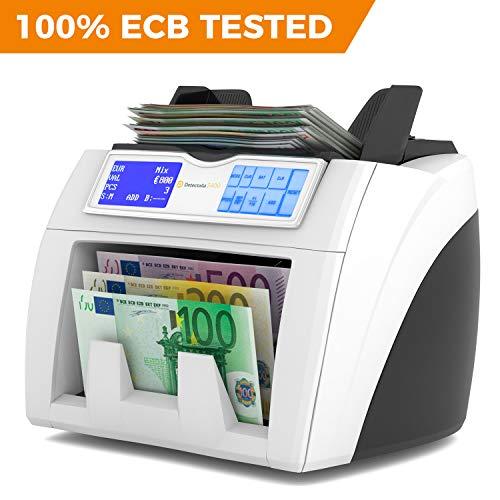 Detectalia S400 - Contador de billetes listo para los nuevos billetes de 100 € y 200 €