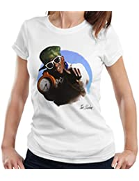 Don't Talk To Me About Heroes Tom Sheehan Official Photography - Flavour Flav Public Enemy White with Timepiece Women's T-Shirt