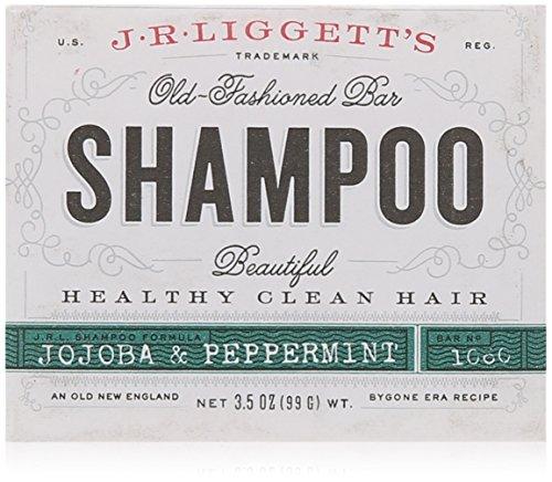 J.R. Liggett's, Old-Fashioned Bar Shampoo, Jojoba & Peppermint, 3.5 oz (99 g) (Bath Bar Seife)
