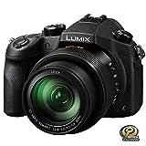 PANASONIC Lumix FZ1000 4K Point and Shoot Camera, 16X, F2.8-4.0 Lens, 21.1 Megapixels, 1 Inch High Sensitivity Sensor, DMC-FZ1000 (USA Black)