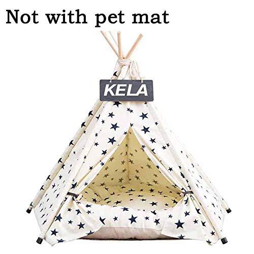 COOINS-CWCXL Tienda para Mascotas Cama para Perros Gato Casa de Juguetes Lavable...