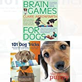 Brain Games For Dogs,Perfect Puppy,101 Dog Tricks 3 books collection Dogs books set