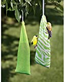 Pacific Bird Kaytee Finch Sock Feeder Twin Pack White Green Seed 2pc 24X4.7