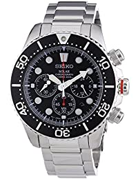 Seiko SSC015P1 Solar Chronograph Mens 200m Watch (Cal.V175)