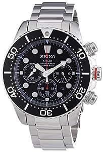 Seiko SSC015P1 Solar Chronograph Mens 200m Watch (Cal.V175)