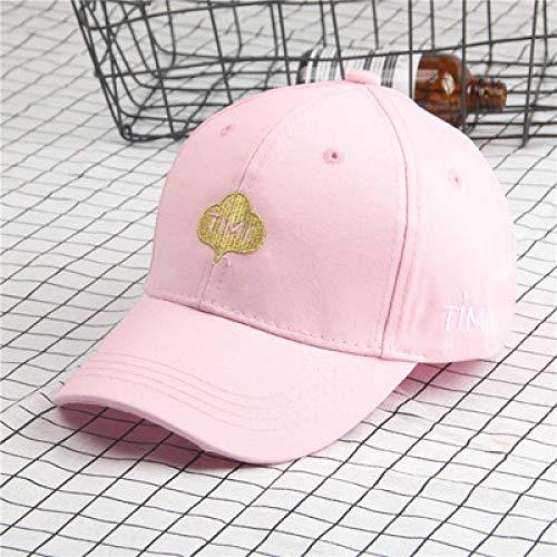 mlpnko Männliche und weibliche Baby-Baseballmütze Eltern-Kind-Schirmmütze rosa Kinderteil 50-54CM (Sensei Kostüm Kind)