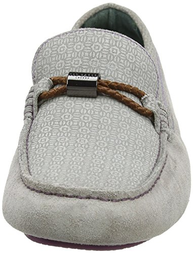 Ted Baker Carlsun 2, Mocassins (Loafers) Homme Multicolore (Light Grey/multi)