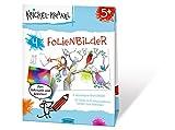Krickel-Krakel Folienbilder: Zum Betritzeln und Bekleben! 4 abziehbare Motiv-Bilder, 10 Folien in 8 Bekleben