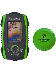 FishingSir Smart Tiefe Fischfinder Sonar/Echolot - Portable Wireless Sonar Sensor Eisfischen 100m/328ft - Karpfen und Nachtfischen