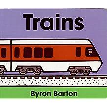 Trains Lap Edition by Byron Barton (2006-09-26)