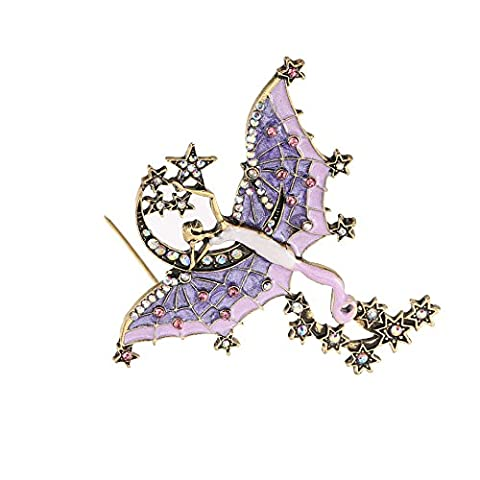 Stylish Christmas Brooches ,Mavis's Diary Elegant Diamond Scarves Pin Wedding Bridal Shawl Brooch Crystal Jewelry For Women Girls Christmas Ornaments Personality Gifts Christmas Clip For Ladies -