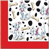 Plastic Disney 101 Dalmatians Tablecloth 1.8m x 1.2m