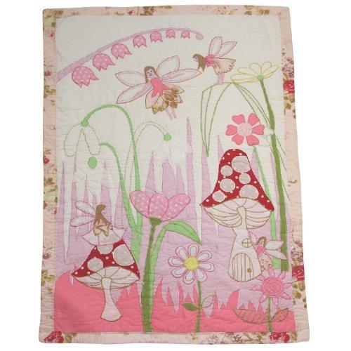 Powell Craft Kinderbett Steppdecke, Fee Design, Baby-Mädchen