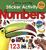 Sticker Activity: Numbers [With Over 100 Stickers] (Early Learning)