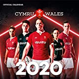 Welsh Rugby Union 2020 Calendar - Official Square Wall Format Calendar...