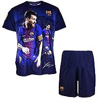 Fc Barcelone Maillot + short Lionel MESSI - N°10 - Barça - Collection officielle BARCELONA - Taille enfant garçon
