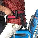 TZYY Cinghia Trasferimento Cintura con Cosciali Dispositivo Ausilio Sicurezza Infermieristica nella Prevenzione Cadute Pazienti Anziani,L