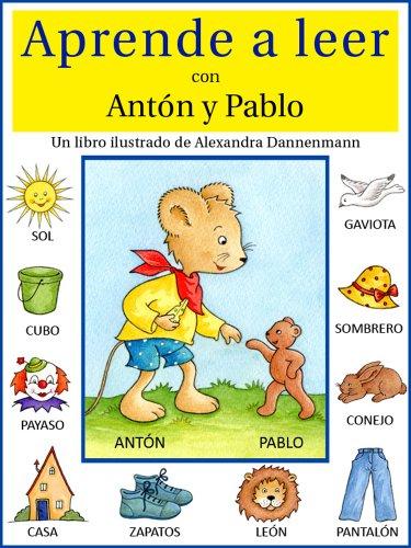 Aprende a leer con Antón y Pablo - Un libro infantil con ...