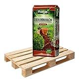 20 Sack Dekormulch Nussbraun mit je 50 Liter = 1000 Liter Plantop Mulch