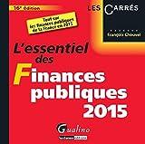 L'essentiel des finances publiques 2015 : tout sur les finances publiques de la France en 2015