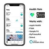 Withings Pulse HR Bracelet connecté d'activité et Suivi du Rythme Cardiaque Mixte Adulte, Black, 18mm