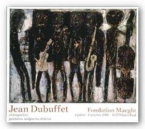 Jazz Band de Jean Dubuffet Tirages d'Art Poster