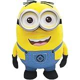 Gru 2: Mi Villano Favorito - Minion Dave Parlanchín, peluche gigante de 41 cm con ojos luminosos (Mondo 25178)