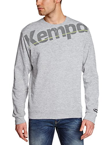 Kempa Pullover Core Sweat Shirt, Grau Mélange, M, 200215305