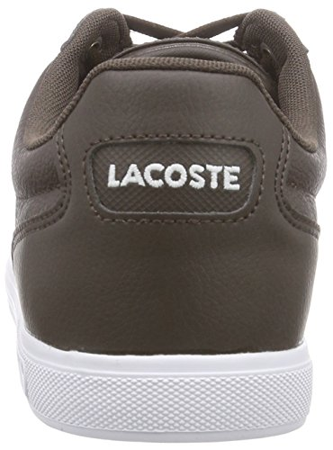 Lacoste EUROPA TCL, Sneakers basses homme Braun (DARK BROWN DB2)