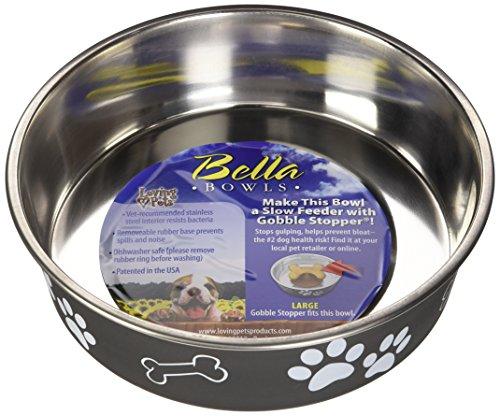 Loving Pets 1774 Bella Schüssel Dog Bowl, 1.5 Liter, Espresso Preisvergleich