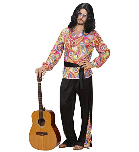 WIDMANN Widman - Disfraz de hippie años 60s para hombre, talla M (76192)