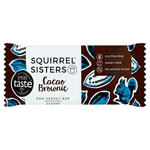 6x Squirrel Schwestern Cacao 20G Brownie 2 X