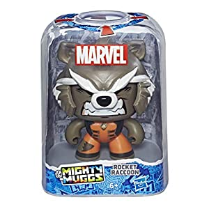 Marvel Classic- Mighty Muggs Figura Coleccionable de Marvel, Rocket Raccoon, Multicolor (Hasbro E2197EU4)