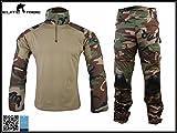 homme airsoft uniforme de combat Gen2 uniforme tactique uniforme militaire Woodland