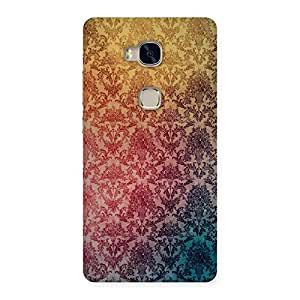 Neo World Texture Back Case Cover for Huawei Honor 5X