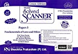 CMA Foundation Model Solved Scanner - Paper-3 - Fundamentals of Laws and Ethics