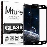 Verre Trempé Samsung Galaxy S7, Mture [Couverture complète] Protection d'écran en Verre Trempé [Compatible 3D Touch] 0,33mm et Ultra Résistant Indice Dureté 9H Écran de Protection pour Galaxy S7-1 pack (Noir)