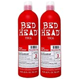 TIGI Haircare Bed Head Rehab for Hair Shampoo and Conditioner 750 ml - Pack of 2