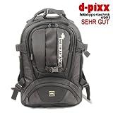 XTREMplus Fotorucksack Dynamik Shuttle M - XTREM+ Premium Fototasche - Kamerarucksack mit Zugriff über das Rückenteil ohne Absetzten und Diebstahl Schutz ( H:44cm B:30cm T:24cm Gewicht: 1,75 kg )