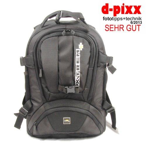 XTREMplus Fotorucksack Dynamik Shuttle M - XTREM+ Premium Fototasche - Kamerarucksack mit Zugriff über das Rückenteil