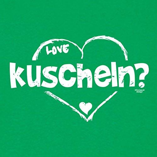 Geschenk, Geburtstag, Geburtstagsgeschenk T-Shirt kuscheln Geschenkidee für den weltbesten Papa, für Herren, Männer, Farbe: hellgrün Hellgrün