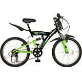 Hero Sprint Elite 20T 6 Speed Junior Cycle (Black/Green)