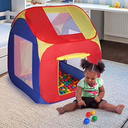 Infantastic-kdzt01-gazebo per bambini con palline-con 200palline, ca. 85x 85x 100cm